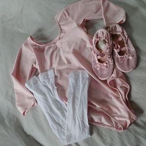 🌾3/$50🌾H&M leotard, tights, ballet slipper